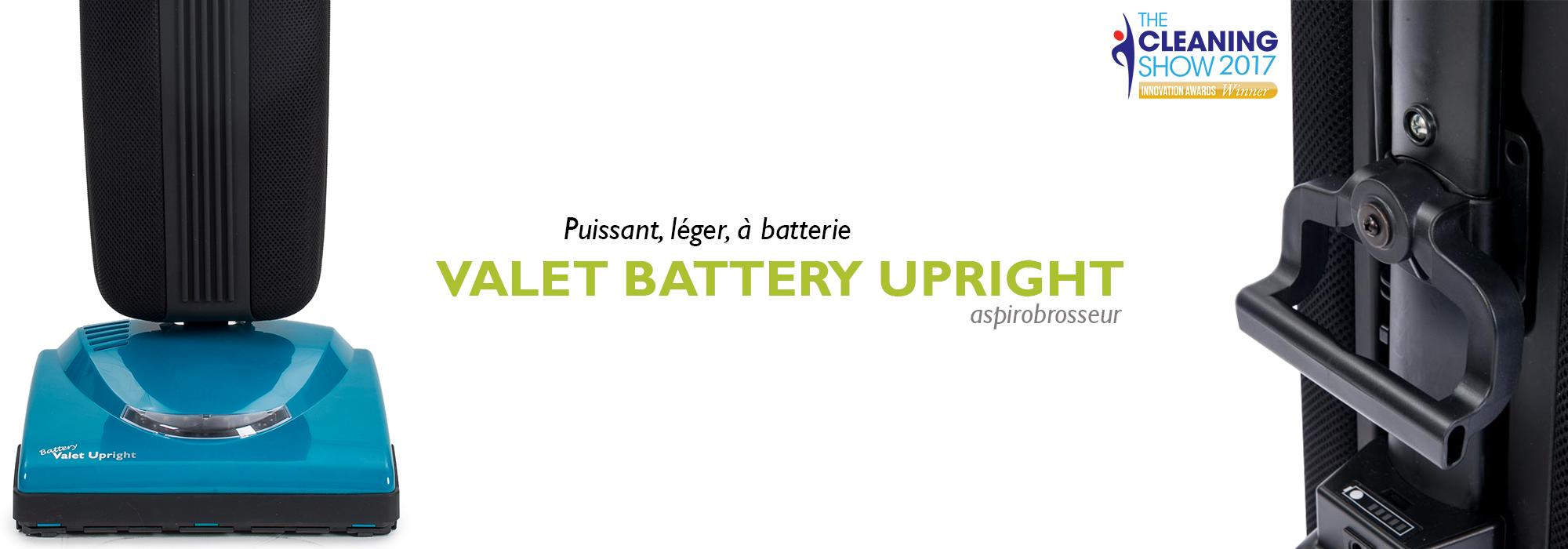 Valet Battery Upright